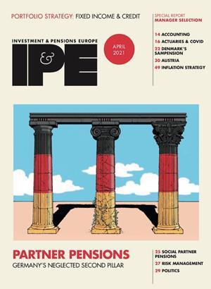 IPE April 2021 cover