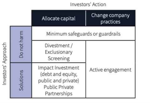 SDG investing matrix