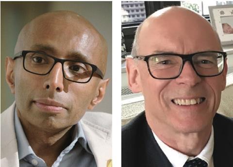 Raj Thamotheram and Stewart Adkins