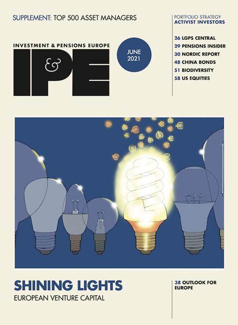 IPE June 2021 cover