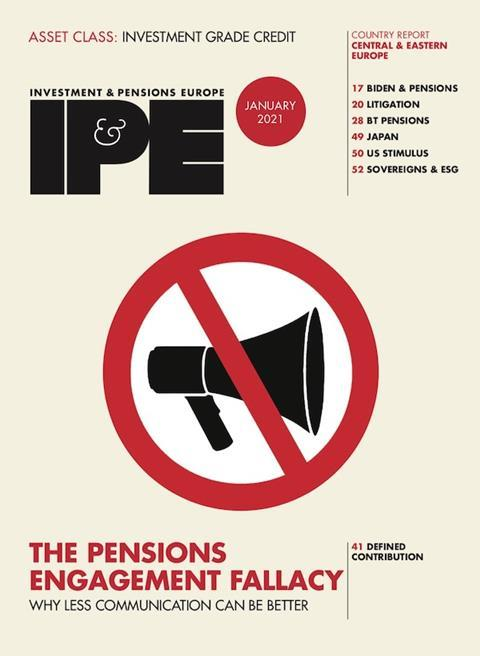 IPE Jan 2021 cover