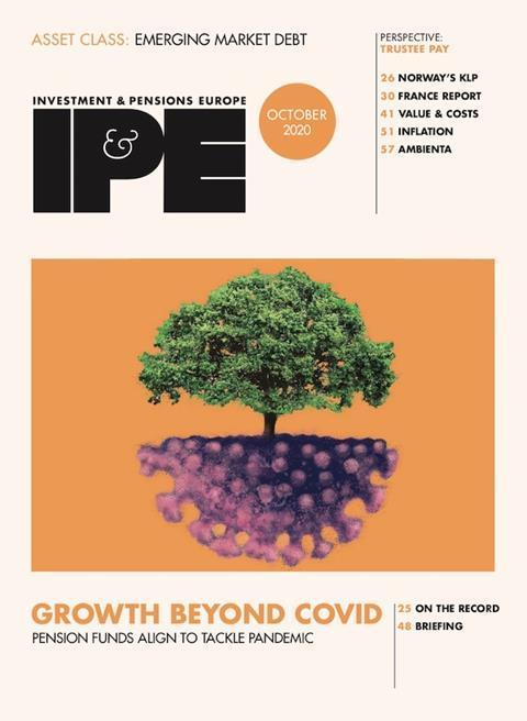 IPE Oct 2020 cover
