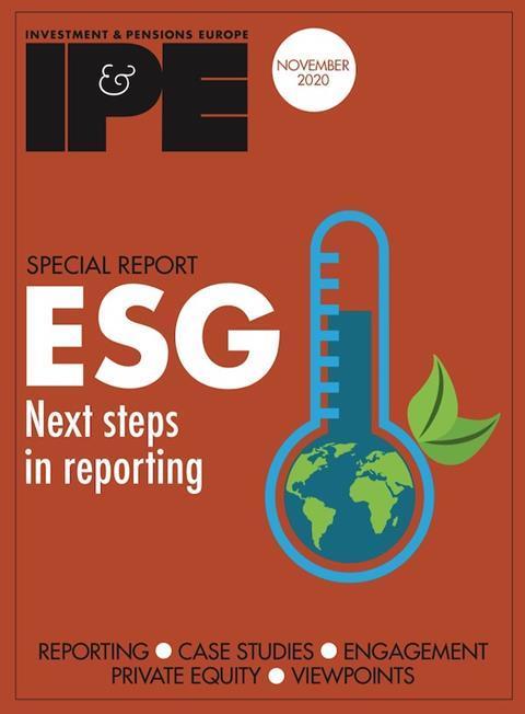 ESG Nov 2020 cover