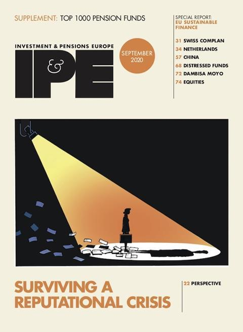 IPE Sept 2020 cover