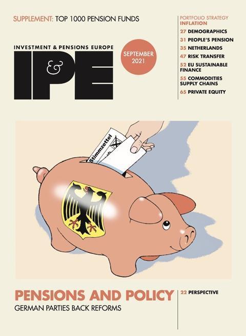 Cover IPE Sep 2021