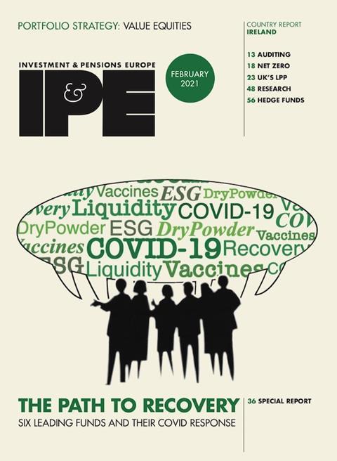 IPE Feb 2021 cover