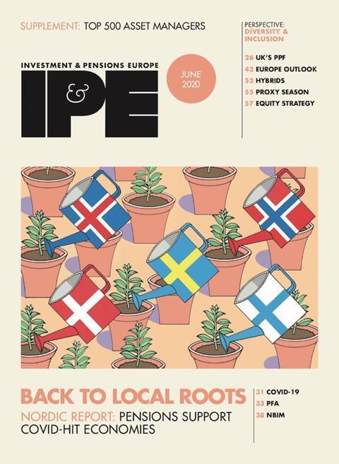 IPE June 2020 cover