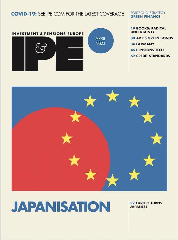 IPE April 2020 cover